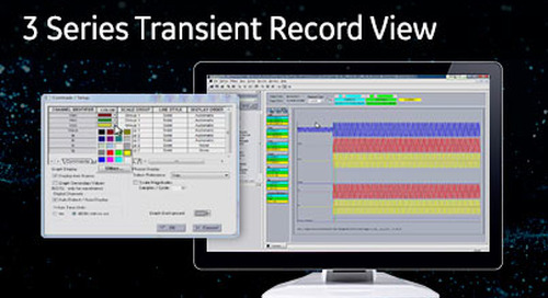 3SP-1007 - 3 Series transient record view