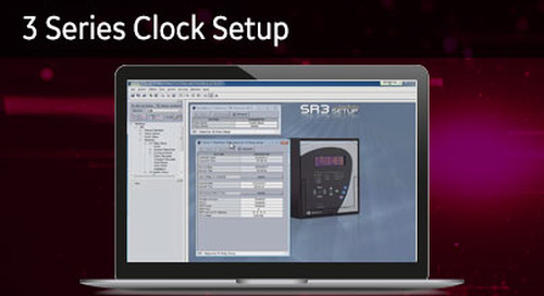 3SP-1012 - 3 Series clock setup