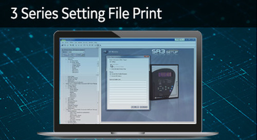 3SP-1023 - 3 Series setting file print