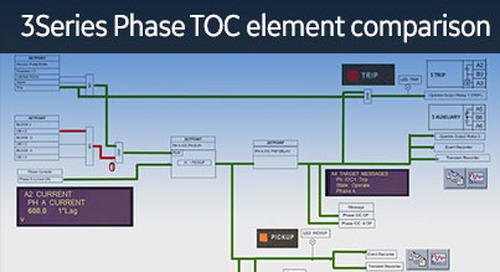3SP-1027 - 3 Series Phase TOC Element Comparison
