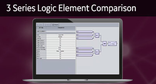 3SP-1030 - 3 Series logic element comparison