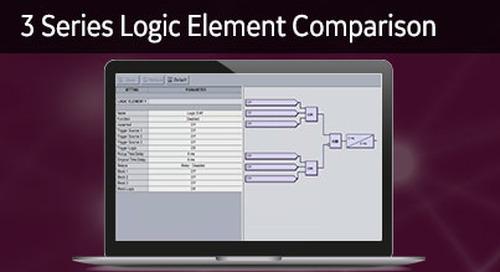 3SP-1030 - 3 Series logic element comparison