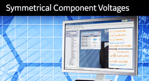3SP-1041 - Calculating Symmetrical Component Voltages