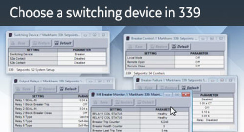 3SP-1045 - Choose a switching device in 339