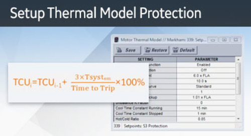 3SP-1047 - Setup Thermal Model Protection