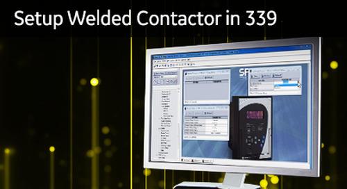 3SP-1052 - Setup Welded Contactor in 339