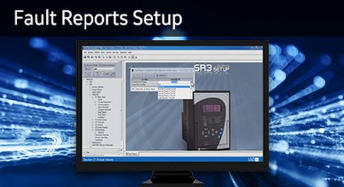 3SP-1055 - Fault Reports Setup