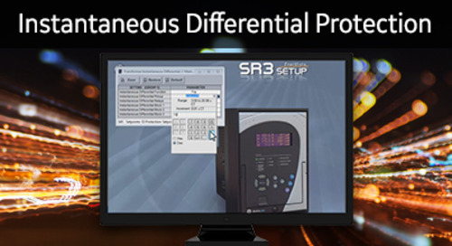 3SP-1056 - Setup Instantaneous Differential Protection