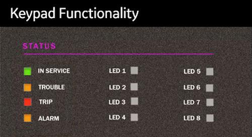 3SP-1059 - Keypad Functionality