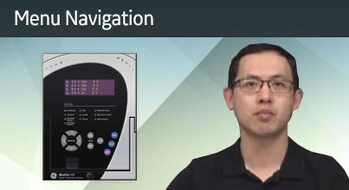 3SP-1060 - Menu Navigation