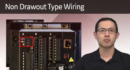 3SP-1062 - Non Drawout Type Wiring