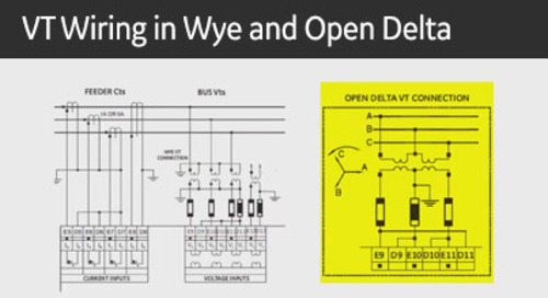3SP-1066 - VT Wiring in Wye and Open Delta