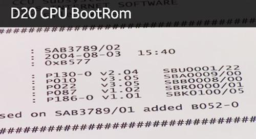 D20-1009 - D20 CPU BootRom