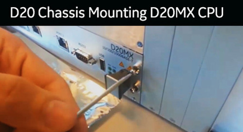 D20-1013 - D20 Chassis Mounting D20MX CPU