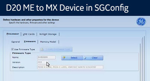 D20-1041 - Upgrade a D20 ME to MX Device in SGConfig