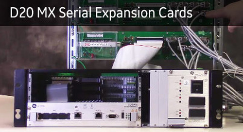 D20-1044 - Identify D20 MX Serial Expansion Cards