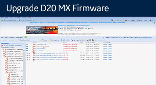 D20-1046 - Upgrade D20 MX Firmware from 1.5 to 1.6