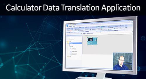 D25-1020 - D25 How 2 - Enabling Calculator data translation application