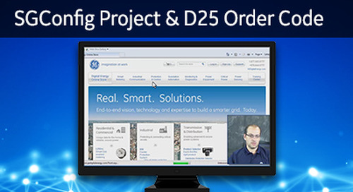 D25-1024 - D25 How 2 - Initiating a project within SGConfig and determining the D25 order code