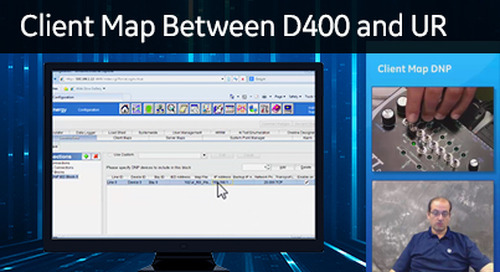 D400-1010 - D400 Configuration How2 - Create a client map between D400 and UR software