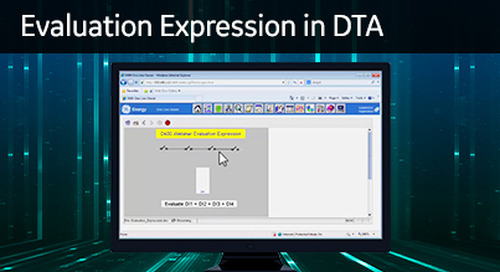 D400-1011 - D400 Configuration How2 - Create an evaluation expression in Calculator DTA