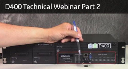 D400-2002 - D400 Technical Webinar Part 2