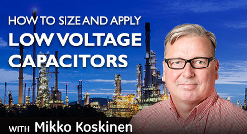 How to Size and Apply Low Voltage Capacitors