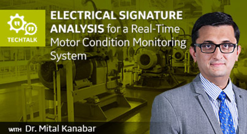 Electrical Signature Analysis for Motor Monitoring