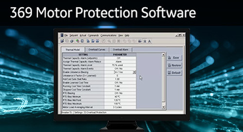 SR-104 - 369 Motor Protection Software