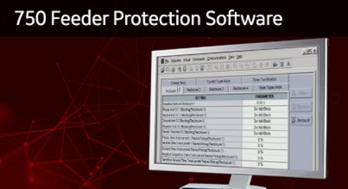 SR-108 - 750 Feeder Protection Software