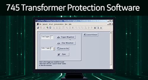SR-110 - 745 Transformer Protection Software