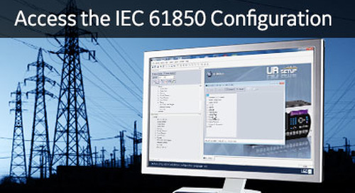 UR-1022 - Access the IEC 61850 Configuration