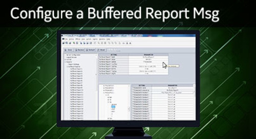 UR-1031 - Configure a Buffered Report Message