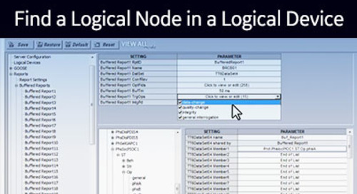UR-1034 - Find a Logical Node in a Logical Device