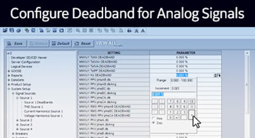 UR-1035 - Configure Deadband for Analog Signals