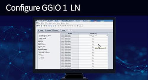 UR-1036 - Configure GGIO1 LN