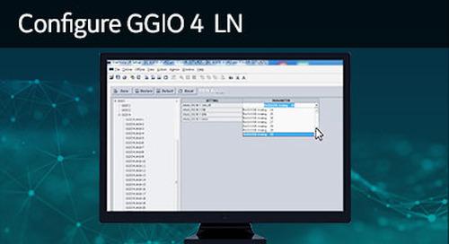 UR-1038 - Configure GGIO4 LN