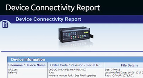 UR-1052 - Understanding the Device Connectivity Report