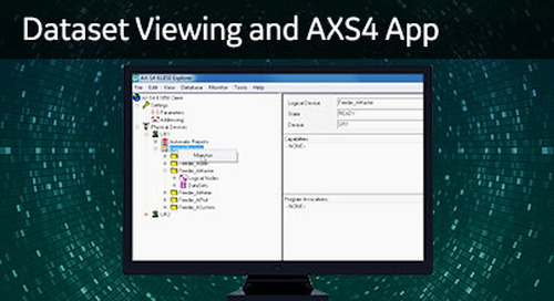 UR-1056 - Dataset Viewing and AXS4 App