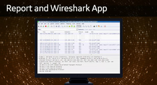 UR-1057 - Report and Wireshark APP
