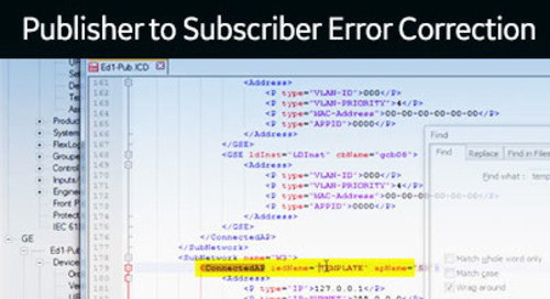 UR-1058 - UR Ed1-Ed2 - Publisher/Subscriber error correction