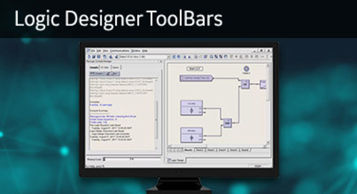 UR-1061 - Logic Designer ToolBars