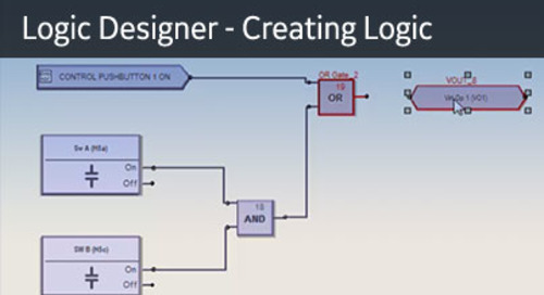 UR-1063 - Logic Designer - Creating Logic