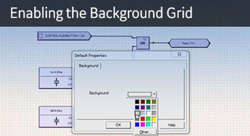 UR-1064 - Logic Designer - Background Grid