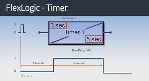 UR-1066 - FlexLogic - Timer