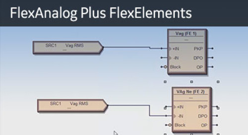 UR-1068 - Logic Designer - FlexAnalog & Elements
