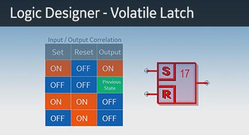 UR-1071 - Logic Designer - Volatile Latch