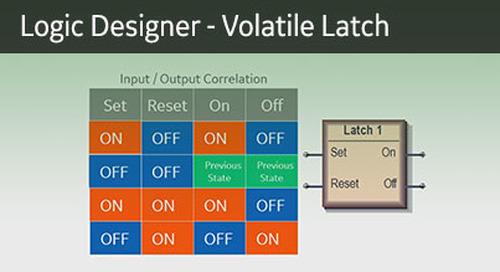 UR-1072 - Logic Designer - Non Volatile Latch
