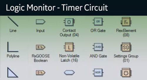 UR-1076 - Logic Monitor - Timer Circuit