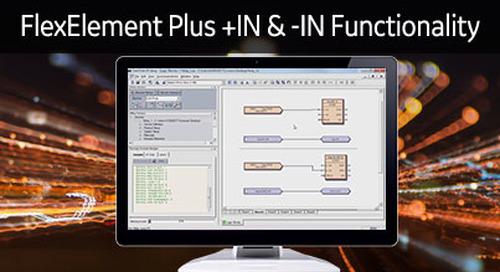 UR-1077 - Logic Monitor - FlexElement +IN & -IN